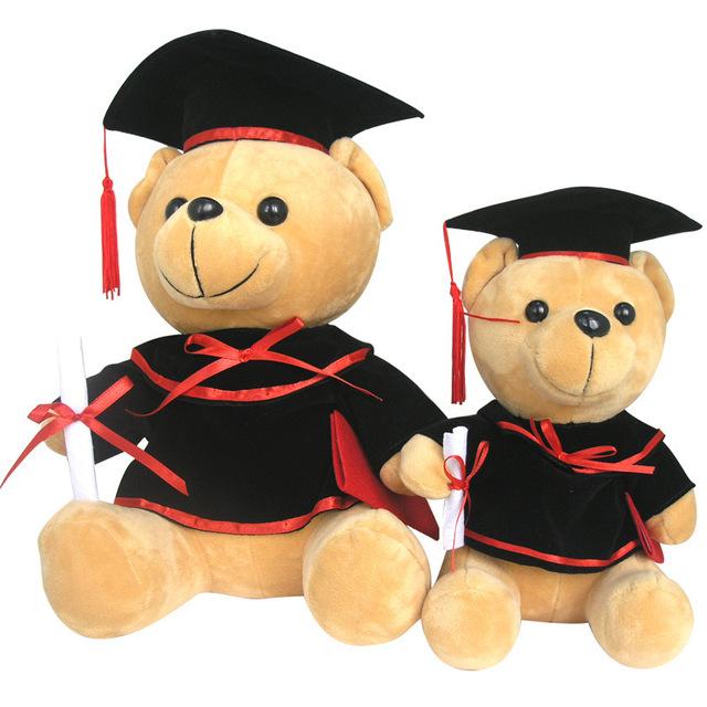 Custom Stuffed Uniform Graduation Bear Great Graduation Gift Plush Teddy Bear