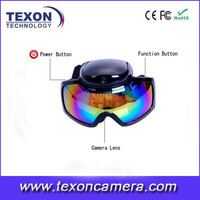 sport sunglasses camera 1080p skiing glasses camera TE-668HD