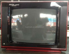 New product 2014 used various sizes flat frame low price CRT tv 17inch
