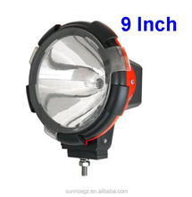 "35W/55W Highpower vehicle hid Driving Light, HID working Lamp for ATV SUV TRUCK JEEP Offroad Vehicles(SR-HID-906,9"") H3 HID Bulb"