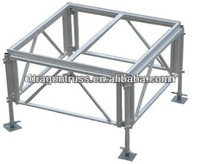 1.22*1.22m Aluminum Frame Plywood Arena Deck Portable Mobile Stage