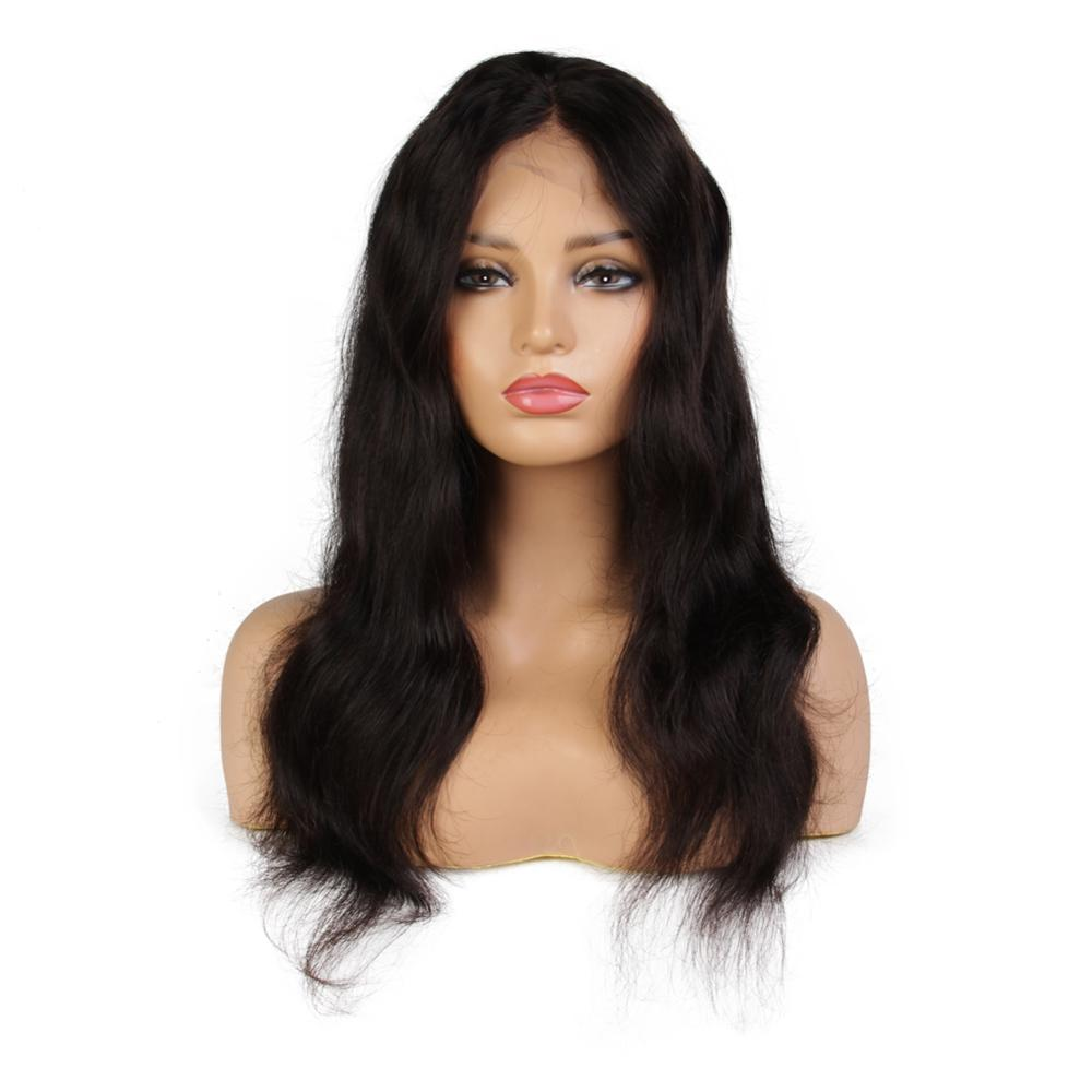 Natural Looking 100% Human Hair Lace Wig With Baby Hair Factory Wholesale