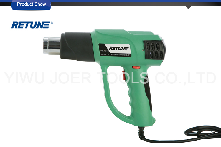 Digital Display Heavy Duty Heat Gun RT-6616