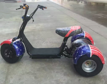 1000w60V lithium battery harley citycoco electric passenger tricycle three wheel three wheel electric bike/e-bicycle/e scooter