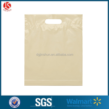 Best selling Resealable Frosted Po Shopping Plastic Bags With Big Handle Hole