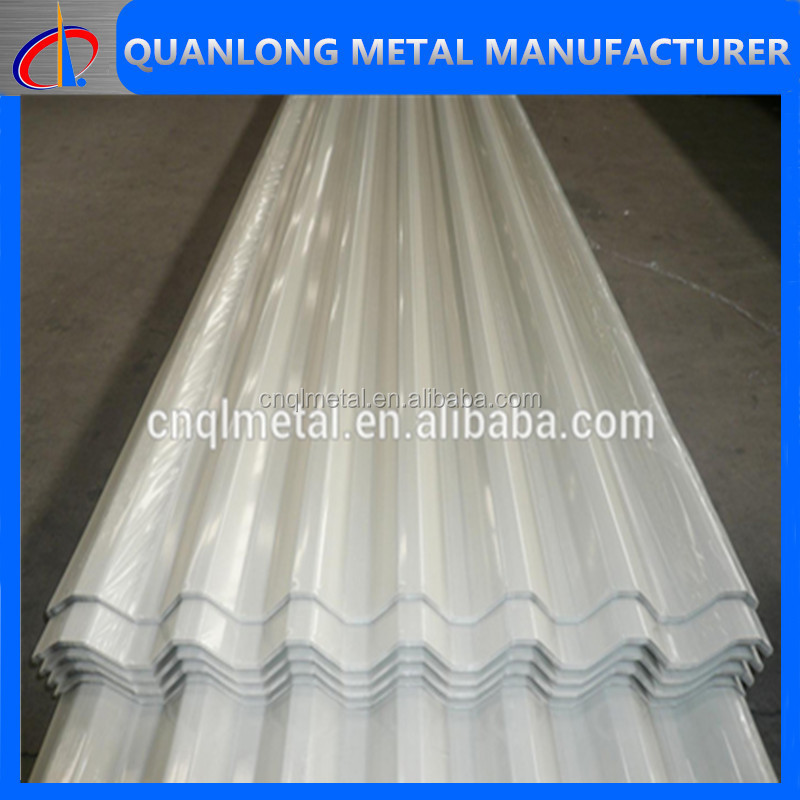 PPGI Corrugated Metal Roofing Steel Plate
