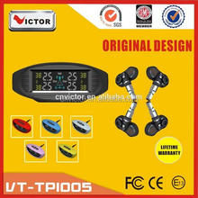 2016 Victor LCD display wireless car tire pressure monitoring system with tpms sensor