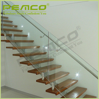 Customized design polished finish 304 316 stainless steel pipe stair handrail
