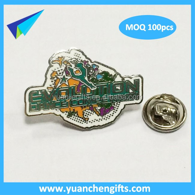 Cute different designs pressing into cloisonne pins with silver backing