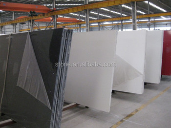 Pure black quartz stone slabs Pure Black quartz stone countertop