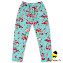 Baby girl high quality flower pattern pants fall fashion leggings custom design wholesale