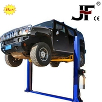 new double S column one post car lift portable