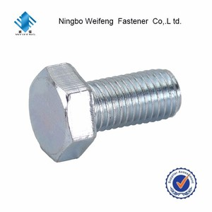 Manufacturer china factory steel DIN933 4.8 Grade Nut And Supplier A2 M3 M4 M5 Socket Cap Screw Hex Head Din912 Chemical Bolt