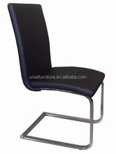 modern classic leather dining chairs metal bistro chairs