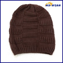 HZM-14086006 2015 small order Accept Knitted long soft funny christmas boxes wholesale custom caps men's sports winter