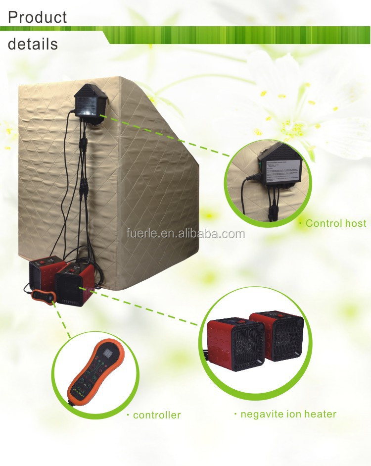 Infrared light sauna room outdoor steam room for sale F-8508