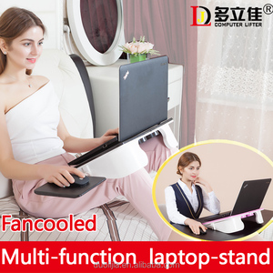 Work & studying living room furniutre bedside table multi-function laptop-stand
