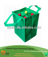4 bottle wine bag nonwoven tote bag