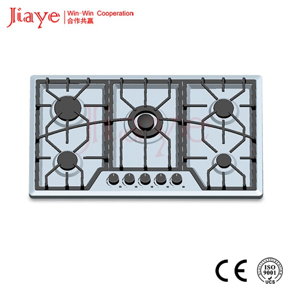 five burner gas hob/gas stove/gas cookers JY-S5080
