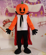 Hot sale high quality adult pumpkin mascot costume