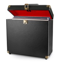 China factory Design Leather Vinyl Record Storage Case