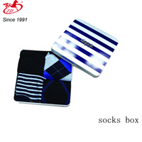 rectangular socks& knickers package metal tin box Skype:tengdacoco
