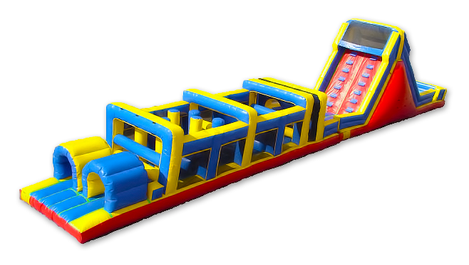 China Giant Outdoor Toys Inflatable Obstacle Course For Kids Hot Sale High Quality Amusement Play Equipment Inflatable For Kids