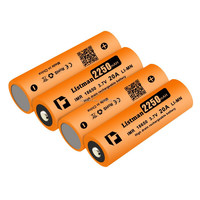 18650 Rechargeable Battery Listman IMR 18650 2250mAh 3.7v 20A High Drain Li-mn Battery