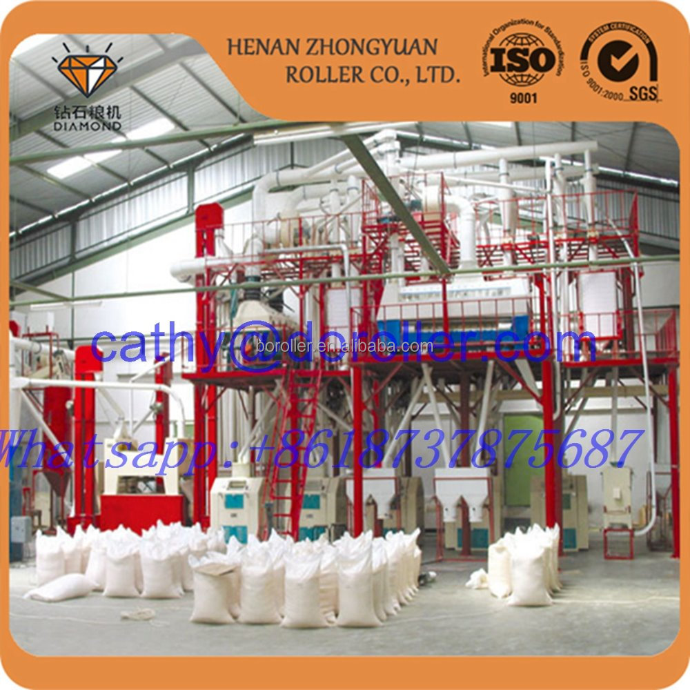 turnkey project 40ton per day what flour making line with price