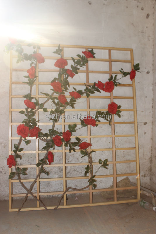 High quality decorative wooden flowers