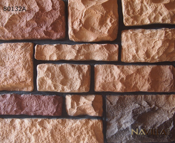 Decorative manufactured rock stone veneer 80132A