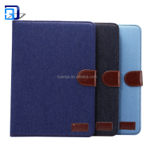 Premium Folio Case Book Cover Design Multi-Angle Viewing Stand Smart Cover Auto Sleep Wake Function For iPad Air 2 Case