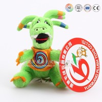 Big mouth green dinosaurs stuffed animals toy
