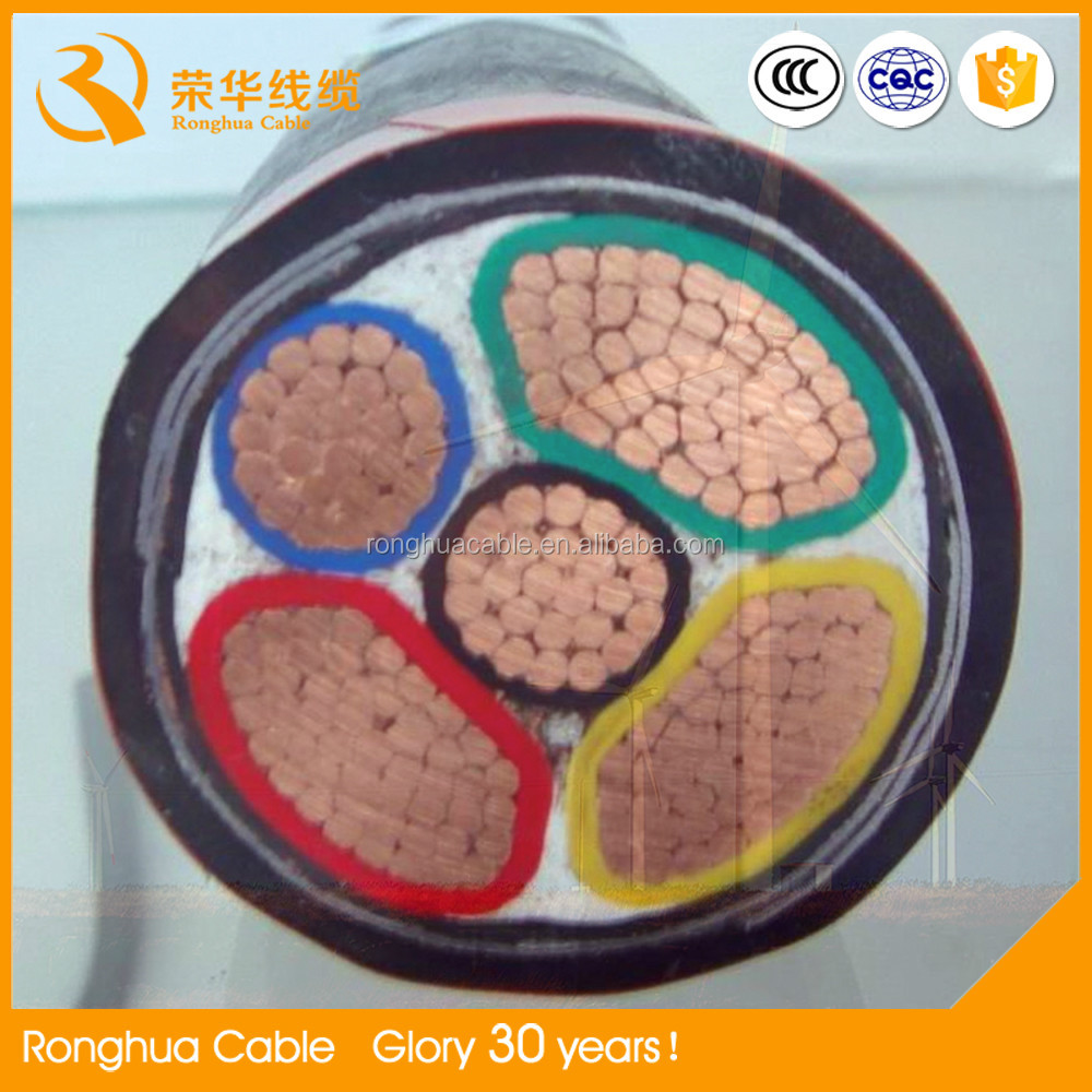 35kv Copper conductor / Aluminium conductor XLPE insulated PVC insulated Middle Voltage Electric Cable