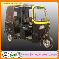 Alibaba Website China Newest Design 200cc Motorised Solar Gas Tricycle for Passenger on Sale
