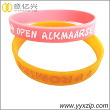 promotion cheap give away gift silicone bracelet, silicone wristband, silicone band