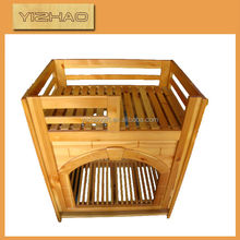 Hot Sale Made-in-China Wooden Dog House,dog kennel cage stainless steel