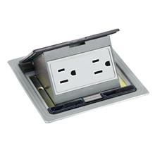 Waterproof Electrical Raised Floor Boxes systems under floor Flush Outlet Box
