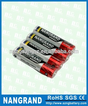 High quality aaa alkaline battery