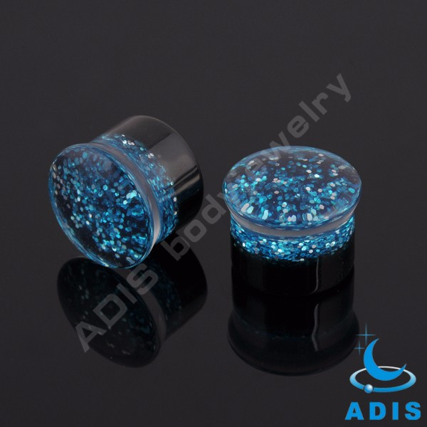 High quality body jewelry acrylic mixed colors ear plugs wholesale