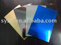 glossy metallic contact paper for packing