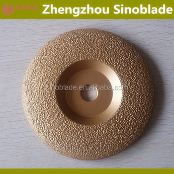 Vacuum Brazed Flat Cup Wheel For fast surface grinding