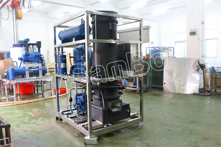 SamBo 5 tons Edible tube ice machine manufacturer for Thailand, Philippines,Malaysia