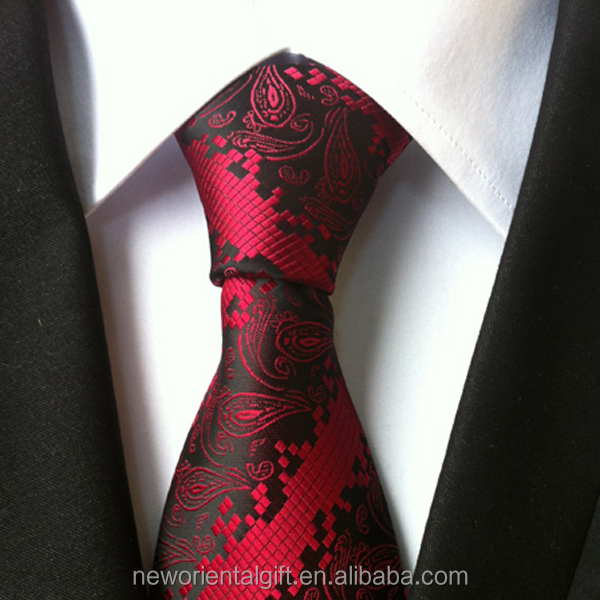 Scroll Pattern 100% silk Ties