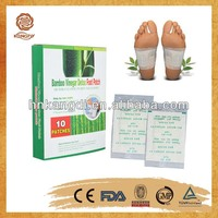 OEM offered bamboo slimming detox foot patch