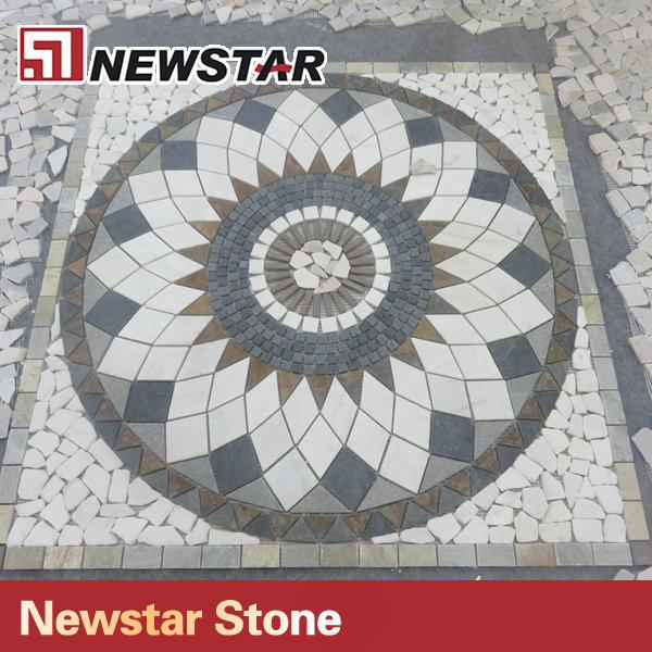 China Mosaic Floor Tile Mosaic Sun Patterns View Mosaic