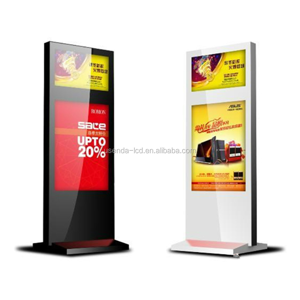55inch lobby indoor lcd display board advertising machine ,standing automatic LCD advertising display machine hd media player
