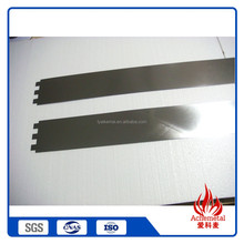 China manufacturer 99.95% high purity tungsten foil/sheet