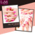 L&M new arrival big volume 15ml empty uv gel nail polish bottle
