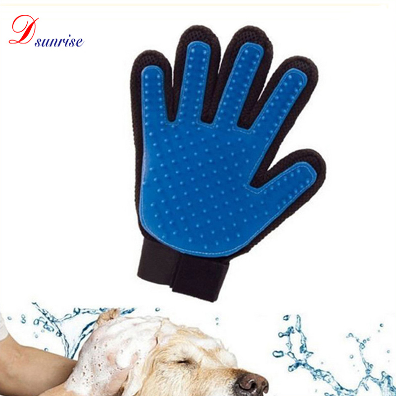 <strong>Dog</strong> & cat glove hair cleaning brush,grooming gloves for pets